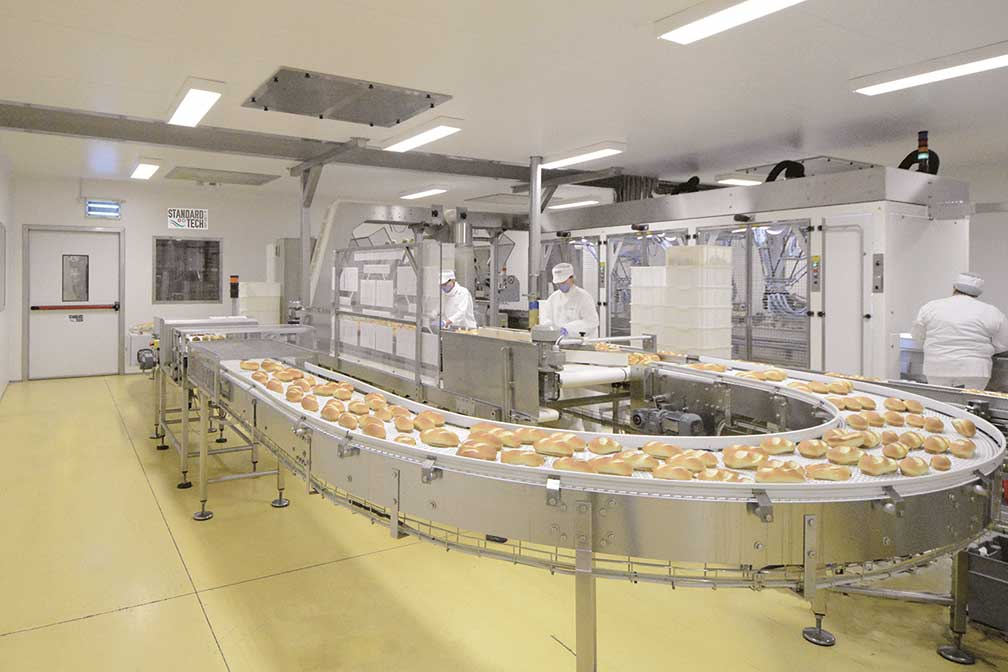 clean room for food industry